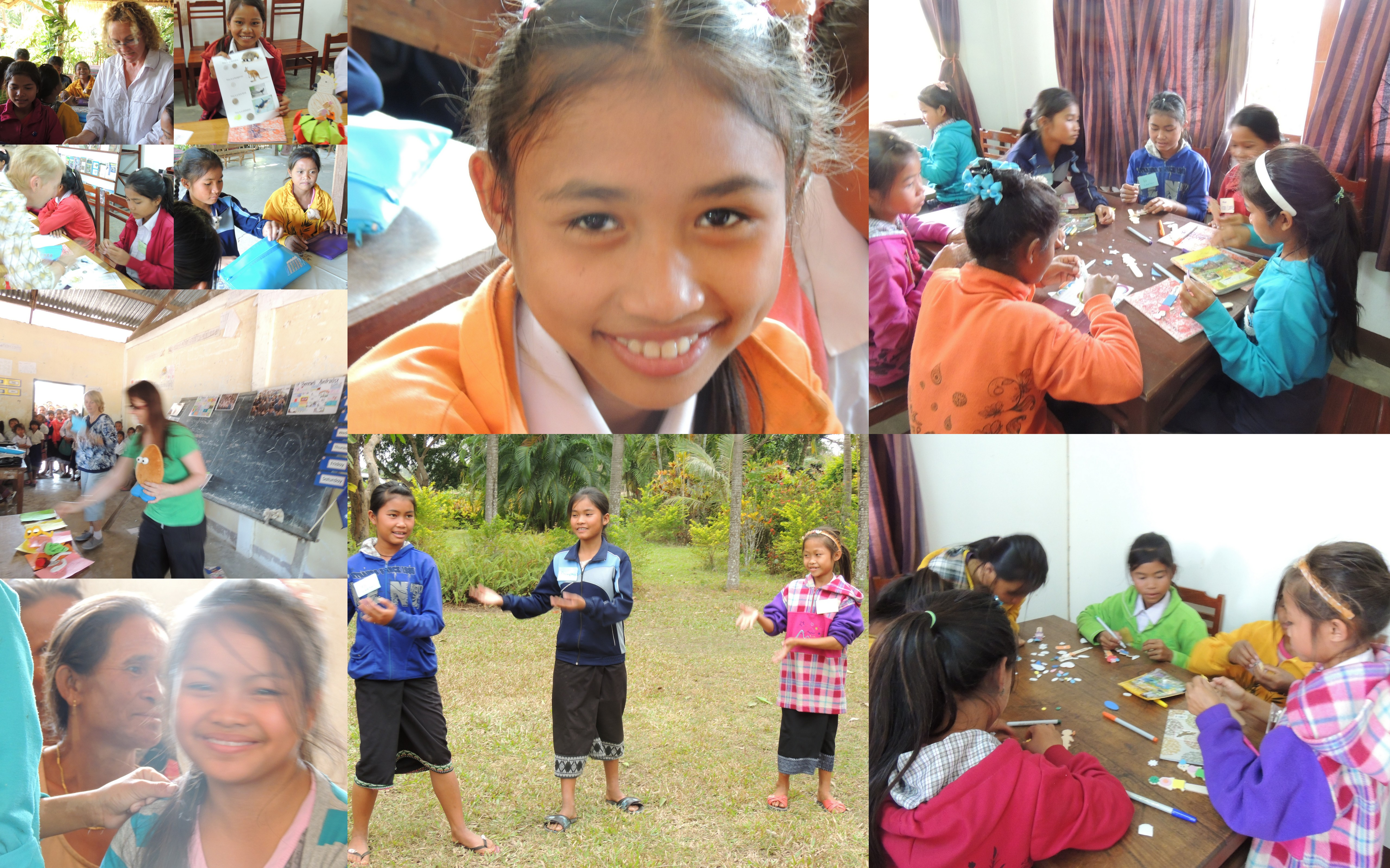 In February 2013 a group of Australian teachers travelled to Laos to run a creative arts workshop witht he Lotus girls.