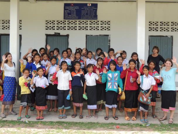 International Educators visit the Lotus Girls in Laos