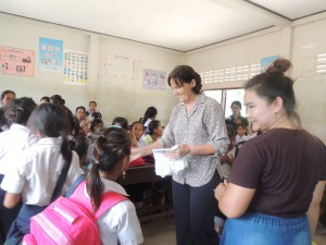 Helen and Da are a wonderful team and Lotus appreciate their generous support coordinating the 40 Primary girls.