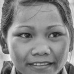Lotus Secondary student excited to study - © Luis Murillo/Lotus Educational Fund