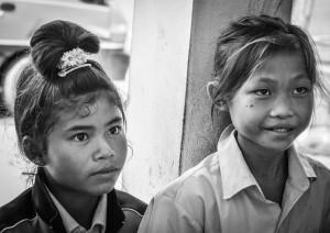 Lotus girls eager to study - © Luis Murillo/Lotus Educational Fund
