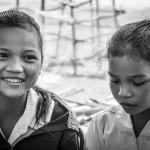 Lotus girls enjoy school - © Luis Murillo/Lotus Educational Fund