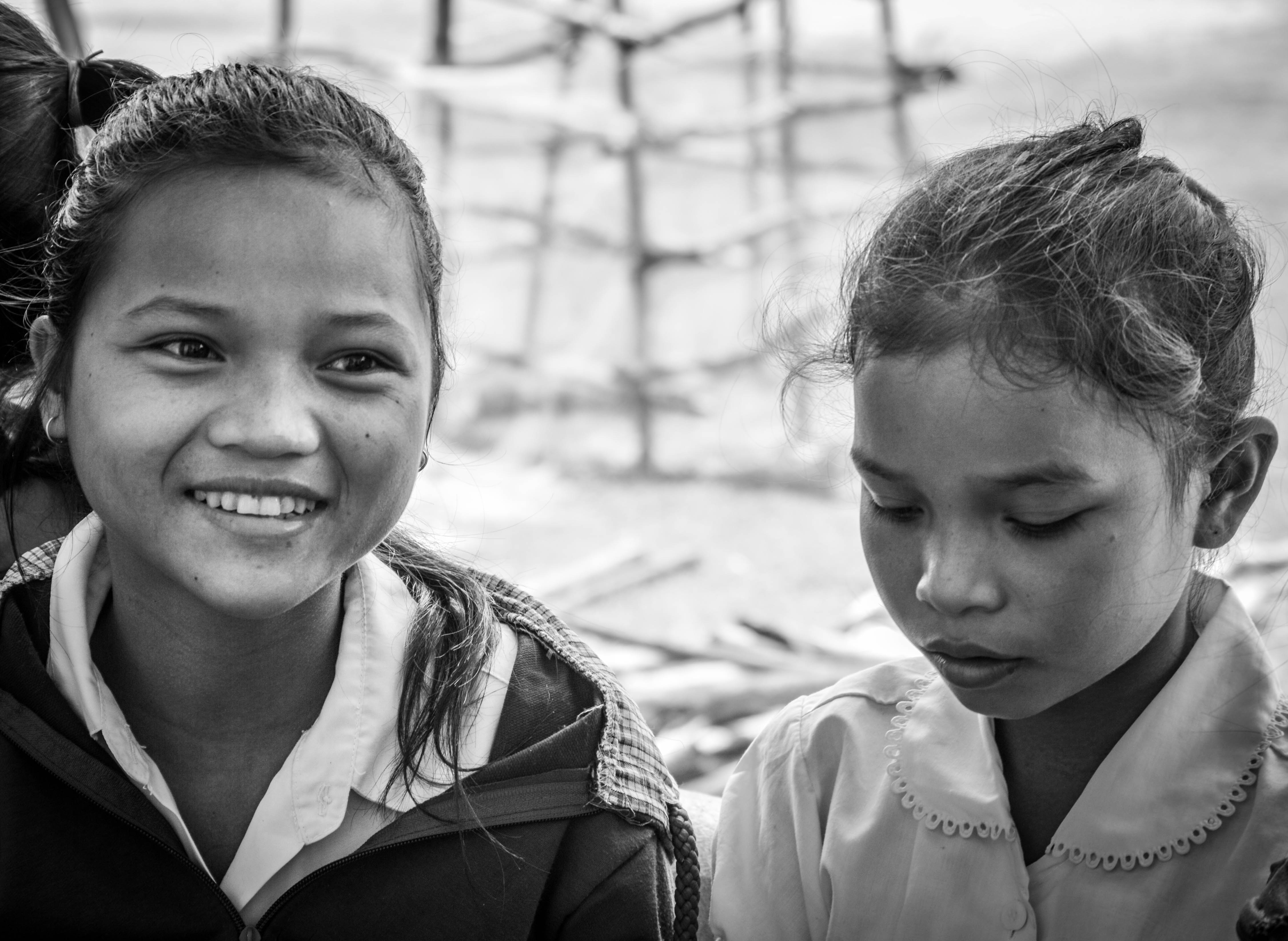 Lotus girls enjoy school - © Luis Murillo/Lotus Educational Fund