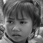 Lotus girls in Grade 1 receive all educational supplies - © Luis Murillo/Lotus Educational Fund