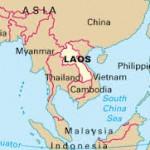 """Laos map - Wikipedia. """"Laos."""" Wikipedia. Wikimedia Foundation, 10 May 2014. Web. 06 Oct. 2014."""